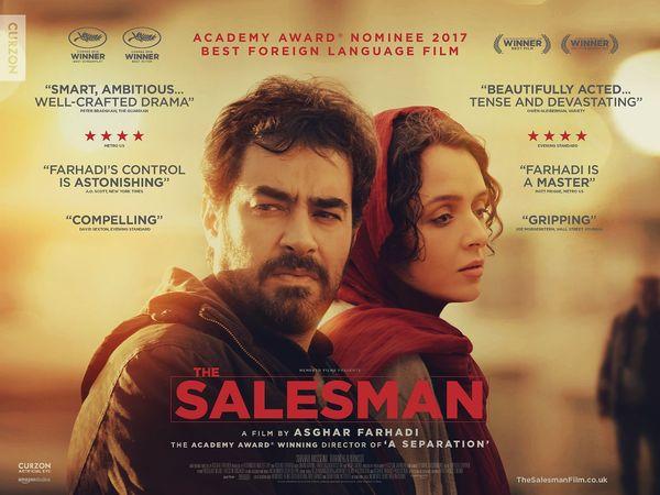 જ્યાં પડદા પર સ્ત્રી-પુરુષને સ્પર્શ કરતાં પણ ન બતાવી શકાય તેવા ઇરાનની આ ફિલ્મ 'ધ સેલ્સમેન' (2016)માં સેક્સ્યુઅલ અસોલ્ટની વાત હતી અને આ ફિલ્મ ઓસ્કર જીતી ગયેલી