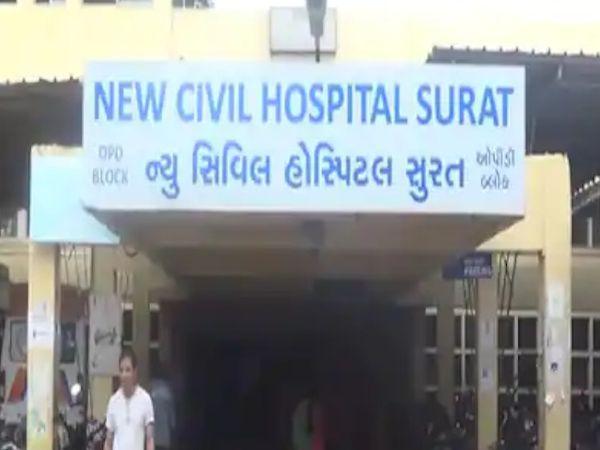 સિવિલ હોસ્પિટલના ડોક્ટરને ઘરમાં કોરોના કેસ હોવા છતાં નોકરી પર હાજર રહેવું પડતું હોવાનું સામે આવ્યું છે. (ફાઈલ તસવીર) - Divya Bhaskar