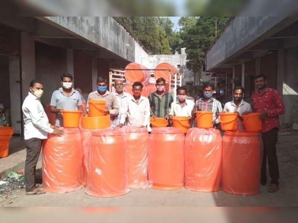 આત્મા પ્રોજેકટ અંતર્ગત હજી સુધી 220 ડ્રમ આવ્યા હતા. - Divya Bhaskar