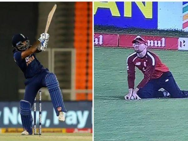 ઈંગ્લેન્ડ સામે ચોથી ટી 20માં સુર્યકુમાર યાદવનો ફિલ્ડરે કરેલો કેચ શંકાસ્પદ હતો ત્યારે થર્ડ અમ્પયારે સોફ્ટ સિગ્નલના આધારે આઉટ આપ્યો હતો - Divya Bhaskar