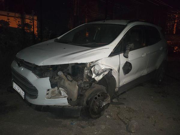 કંથારીયાના મુવાડા પાસે કારના ચાલકે બાઈકને અડફેટે લેતાં 3ના મોત થયાં. - Divya Bhaskar