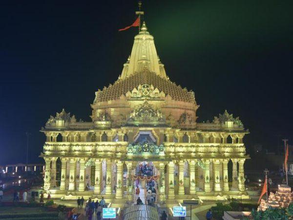 સોમનાથ મંદિર 16 કલાક સળંગ ખુલ્લું રહેશે