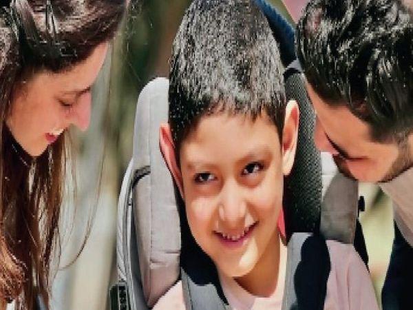 વરુણના પુત્રને સેરેબ્રલ પાલ્સી નામની બીમારી છે. - Divya Bhaskar