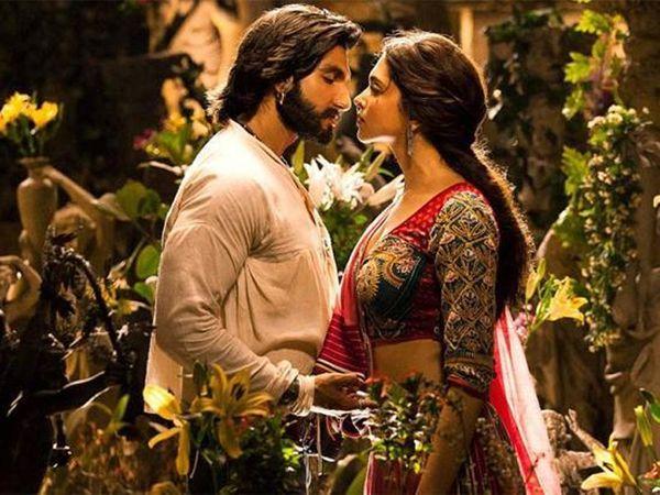 'રામલીલા' ફિલ્મના એક દ્રશ્યમાં રણવીરસિંહ અને દીપિકા પાદુકોણ. - Divya Bhaskar