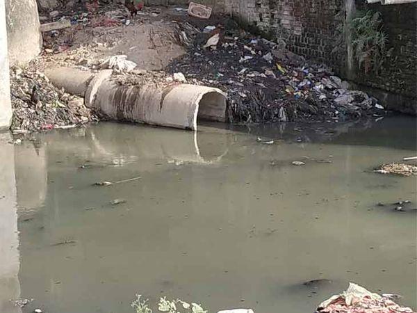 નગરના 13 હજાર ડ્રેનેજ કનેક્શનનું પાણી હજી પણ નદી પ્રદુષિત કરી રહ્યું છે - Divya Bhaskar