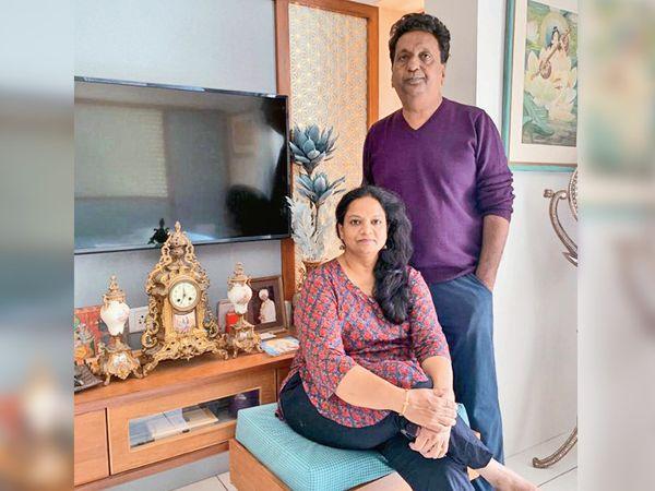 વડોદરાના દંપતી નેહા અને હિતેશની તસવીર - Divya Bhaskar