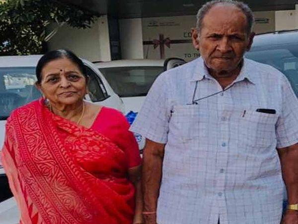 મૃતક પતિ અને પત્નીની ફાઇલ તસવીર - Divya Bhaskar