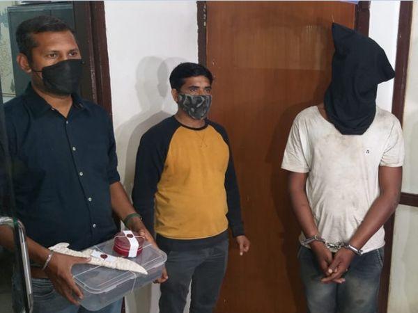 4.25 લાખના મુદ્દામાલ સાથે 1 આરોપીની પોલીસે ધરપકડ કરી હતી - Divya Bhaskar