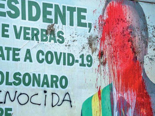 બ્રાઝિલમાં થયેલા મૃત્યુને લોકો નરસંહાર ગણાવી રહ્યાં છે. - Divya Bhaskar