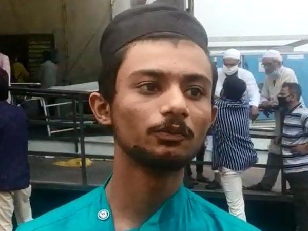 શબાનાના પુત્ર અનસે વ્યથા વ્યક્ત કરી. - Divya Bhaskar
