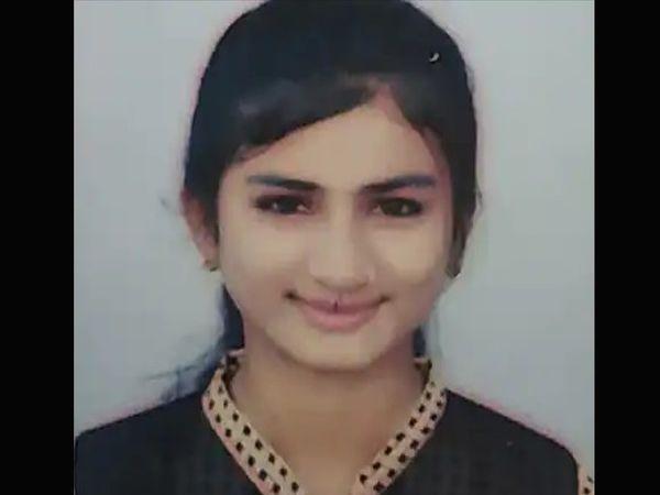 મૃતક યુવતની તસવીર - Divya Bhaskar