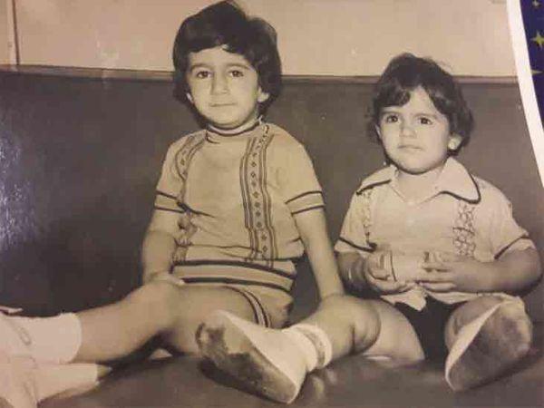 અરમાન નાના ભાઈ રજનીશ સાથે