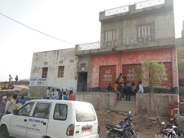 भिनाय का घर, जहाँ हत्या हुई थी।