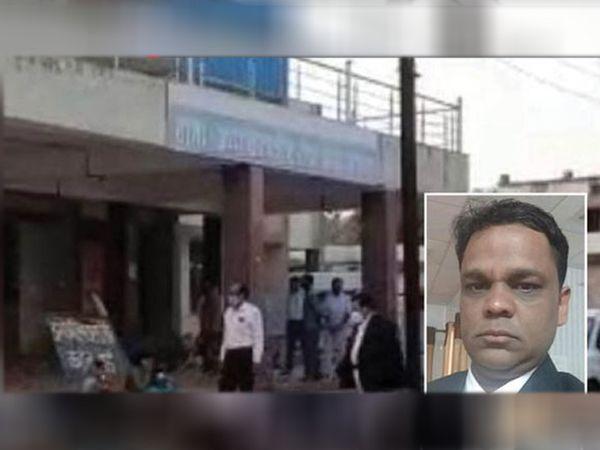 ન્યાયાધીશ સાથે હોસ્પિટલથી લઈને સ્મશાન સુધી અન્યાય થયો હતો. - Divya Bhaskar