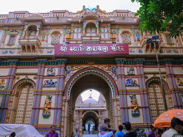 કાલુપુર સ્વામિનારાયણ મંદિર ( ફાઈલ ફોટો)