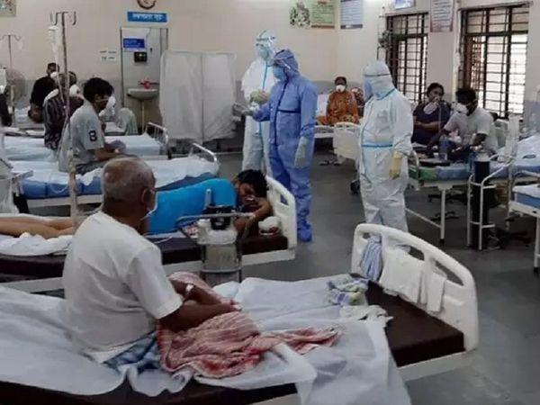 કોવિડ હોસ્પિટલની ફાઈલ તસવીર - Divya Bhaskar