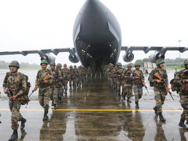 ભારતીય સેના પશ્ચિમમાં પાકિસ્તાન સરહદની જેમ ઉત્તર અને ઉત્તર-પૂર્વ ચીન સરહદે વધુ ધ્યાન કેન્દ્રિત કરવા ઈચ્છે છે.