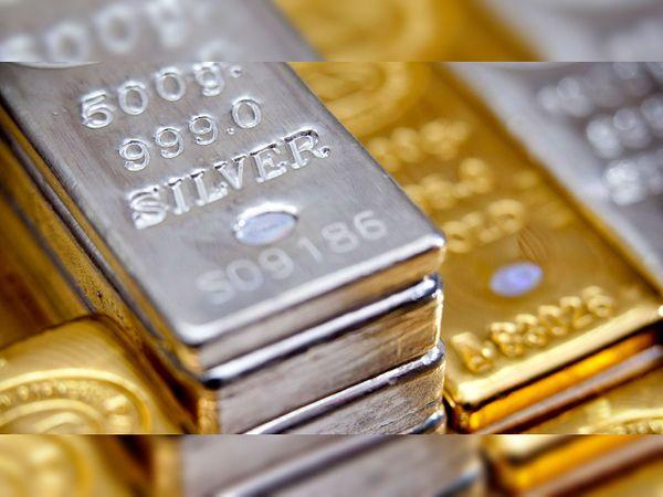 अंतरराष्ट्रीय बाजार में सोना 17 1730 से ऊपर और चांदी 25 से ऊपर बोली जाती है।