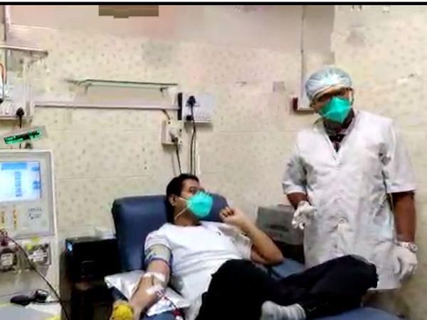 પ્લાઝમા ડોનેશનની પ્રક્રિયા સામાન્ય અને આડઅસર વગરની છે.