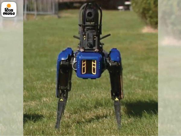 रोबोट डॉग विभिन्न प्रकार के स्कैनर के माध्यम से अपने चार पैरों पर काम करता है।  14 किलो वजनी उपकरण को इस पर अलग से लगाया जा सकता है।