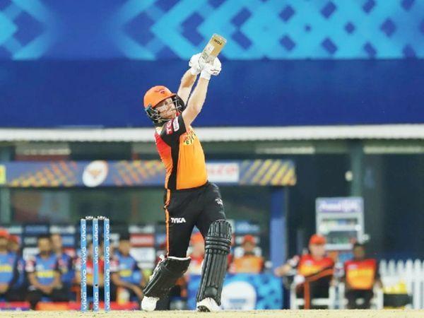 हैदराबाद के सलामी बल्लेबाज जॉनी बेयरस्टॉ ने 22 गेंदों पर 43 रन बनाए।