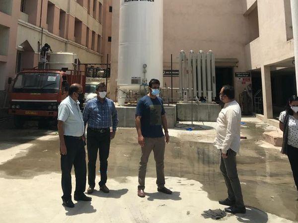 ડો. વિનોદ રાવ અને તેમની ટીમે એડવાન્સ પ્લાનિંગની સ્ટ્રેટેજી અપનાવી છે.