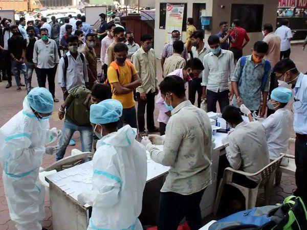 ગુજરાત યુનિવર્સિટી સહિતની સંસ્થામાં આજથી આરટીપીસીઆર ટેસ્ટ શરૂ થશે.