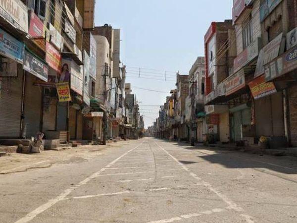કોર કમિટીની બેઠકમાં લોકડાઉનનો નિર્ણય લેવાઈ શકે છે ( ફાઈલ ફોટો) - Divya Bhaskar