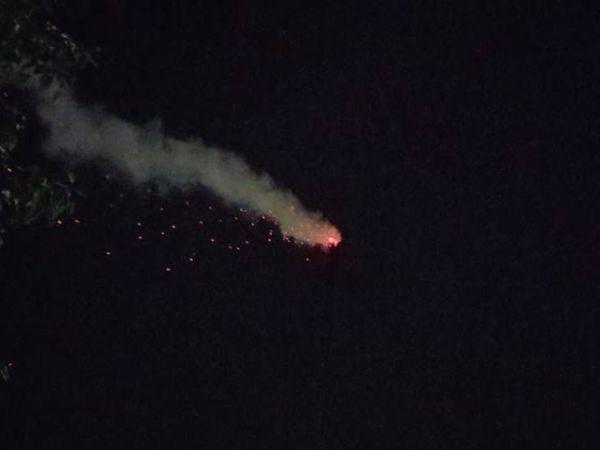 વાડજ સ્મશાનમાં ચીમનીમાંથી રાત્રે રીતસરના આગના તણખા ઉડતા દેખાયા