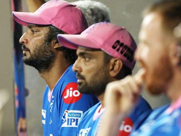 कुमार संगकारा आरआर की हार से दुखी थे।