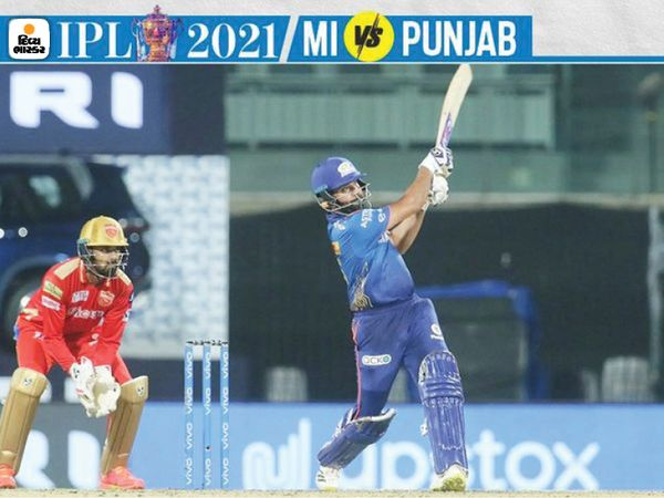 टॉस हारने के बाद पहले बल्लेबाजी करते हुए मुंबई के कप्तान रोहित शर्मा ने आईपीएल में अपना 40 वां अर्धशतक बनाया।  यह उपलब्धि हासिल करने वाले शिखर धवन और विराट कोहली के बाद तीसरे भारतीय बल्लेबाज हैं।