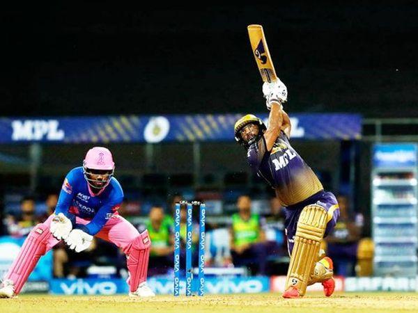 कोलकाता की ओर से राहुल त्रिपाठी ने 26 गेंदों में 36 रन बनाए।  टीम के लिए सबसे ज्यादा रन बनाने वाले बल्लेबाज कौन थे।