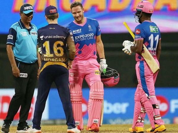 डेविड मिलर ने भी अहम पारी खेली।  उन्होंने सैमसन के साथ 34 रनों की साझेदारी कर टीम को जीत दिलाई।  मिलर 23 गेंदों में 24 रन बनाकर नाबाद रहे।