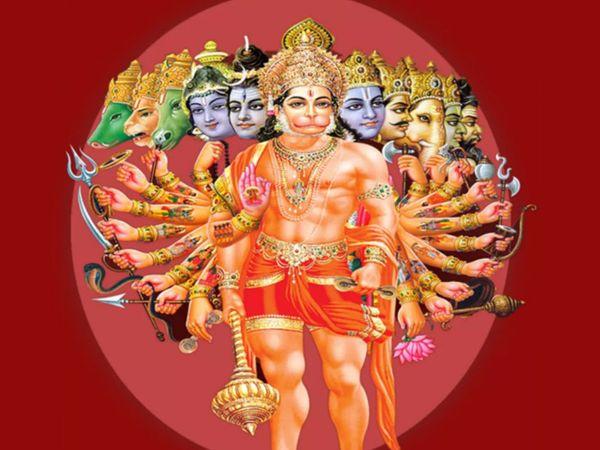 ઘરના મંદિરમાં હનુમાનજીની વિશેષ પૂજા કરો. દીવો પ્રગટાવીને હનુમાન ચાલીસાનો પાઠ કરો.