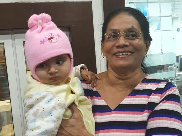 રાજકોટનાંચંદ્રિકાબેનવૈદ્યની તસવીર - Divya Bhaskar