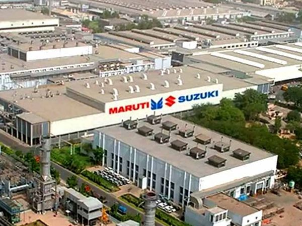 મારુતિ સુઝુકી ગુજરાતમાં 7.5 લાખ ગાડીઓનું ઉત્પાદન કરે છે. જ્યારે હરિયાણા માનેસર પ્લાન્ટની ઉત્પાદન ક્ષમતા 8.8 લાખ અને ગુરુગ્રામમાં 7 લાખ કારની પ્રોડક્શન કેપેસિટી છે (ફાઇલ ફોટો).