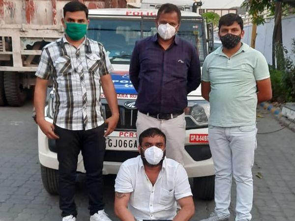 દુષ્કર્મ કેસના આરોપી ભાવેશ પટેલને પોલીસે જયપુરથી ઝડપી પાડ્યો - Divya Bhaskar