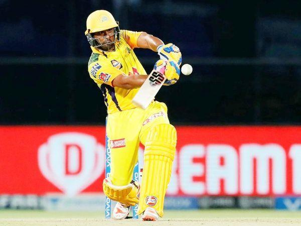 रायडू ने 20 गेंदों पर अर्धशतक लगाया।  यह उनका आईपीएल में 20 वां अर्धशतक था।  वह 27 गेंदों में 72 रन बनाकर नाबाद लौटे।