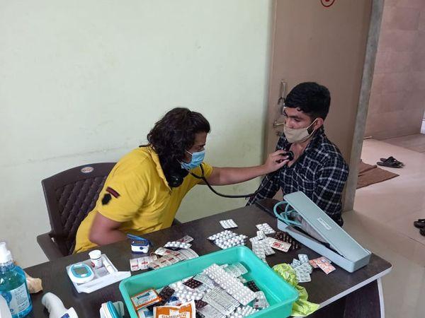 રોજ સવારે 10થી 1 વાગ્યા સુધી નિ:શુલ્ક ઓપીડી શરૂ કરાઈ છે. - Divya Bhaskar