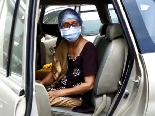 સિવિલ હોસ્પિટલમાં રીફર કરીને 15 લિટર ઓકિસજન સારવાર માટે લાવવામાં આવ્યા હતા.