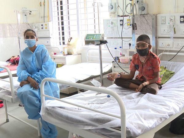 6 નવજાત સહિત 25 જેટલા કોરોના સંક્રમિત બાળકોને સયાજી હોસ્પિટલના બાળ વિભાગમાં સારવાર અપાઇ