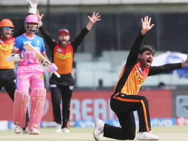राजस्थान खान ने राशिद खान को पहला ट्विस्ट दिया, उन्होंने यशस्वि को एलबीडब्लू किया, यशस्वी ने केवल 12 रन बनाए