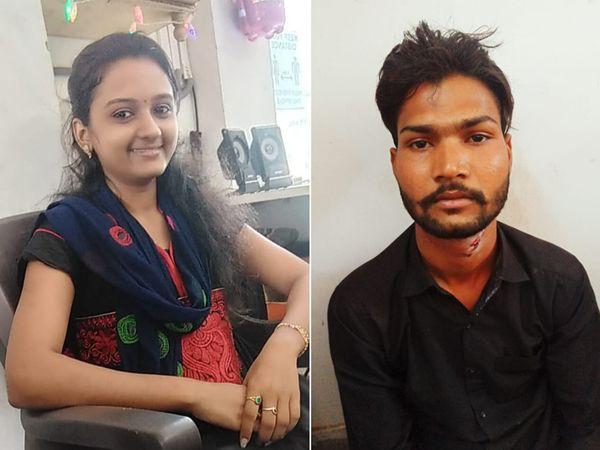 મૃતક પત્ની અને હત્યારા પતિની ફાઈલ તસવીર - Divya Bhaskar