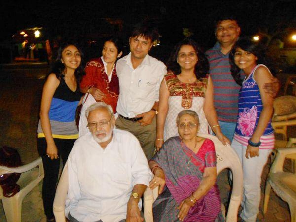 તામ્રપર્ણી મહેતા પરિવાર સાથે - Divya Bhaskar