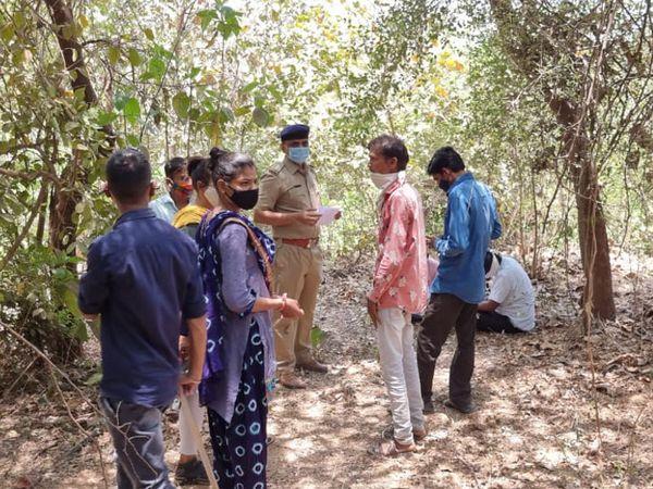 રાજગઢ પોલીસે ઘટનામાં હાલ અકસ્માત મોતનો ગુનો નોંધીને તપાસ શરૂ કરી