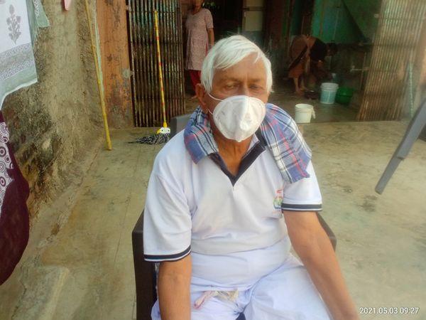 મજરાના રામાભાઈએ 21 દિવસમાં કોરોનાને હરાવ્યો - Divya Bhaskar