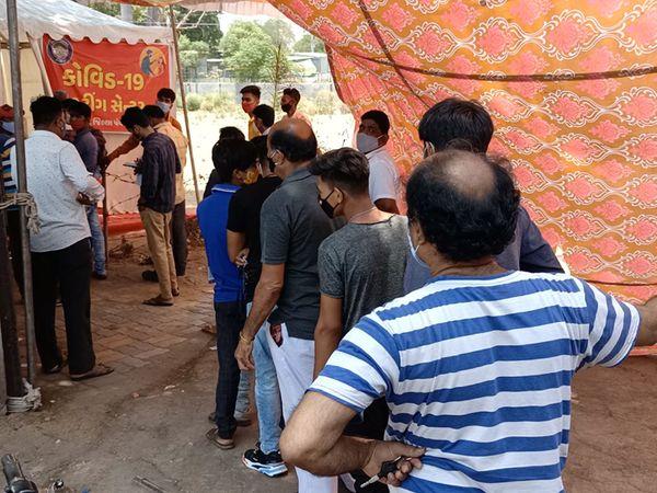 સંખેડામાં માત્ર 96 વ્યક્તિઓએ કોરોના ટેસ્ટ કરાવ્યો. - Divya Bhaskar