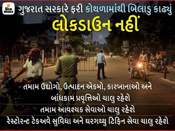 ગુજરાત સરકાર લૉકડાઉન લાદવાના મૂડમાં જ નથી