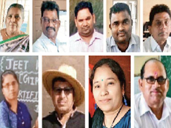 આ શિક્ષકો ફરજ નિભાવતા મહામારીના ભોગ બન્યાં - Divya Bhaskar
