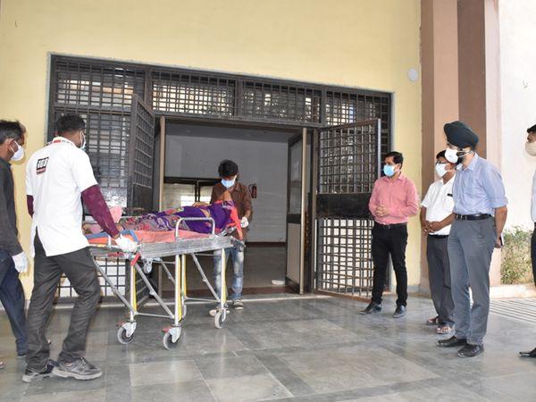 ધારપુર હોસ્પિટલમાં નવો- કોરોના વોર્ડ શરૂ કરાયો - Divya Bhaskar